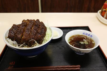 食堂田村 ソースかつ丼950円