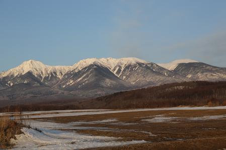 八ヶ岳 野辺山付近から望む