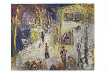 1960年頃 冬の冷蔵庫
