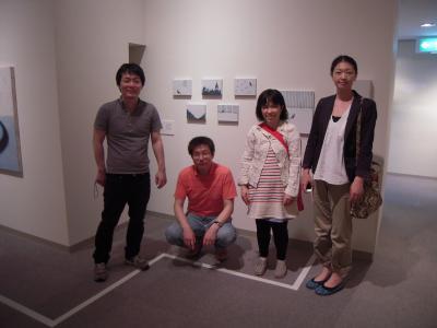 「鼓動する日本画」の皆さん