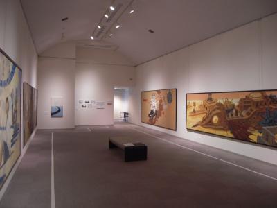 「鼓動する日本画」会場2
