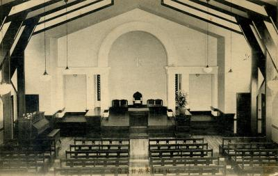 (旧)北一条教会内部