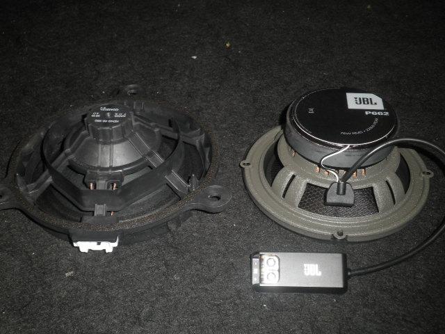 マツダ CX-5にJBLスピーカーを取付