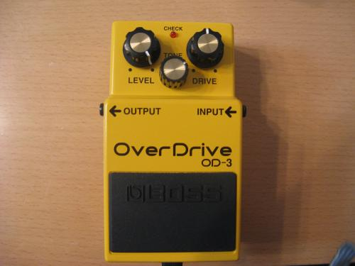BOSS over drive 3