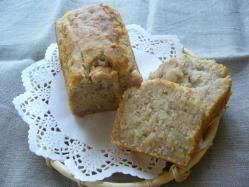 20100420米粉バナナパウンドケーキ