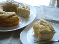 20100426バナナリングケーキ