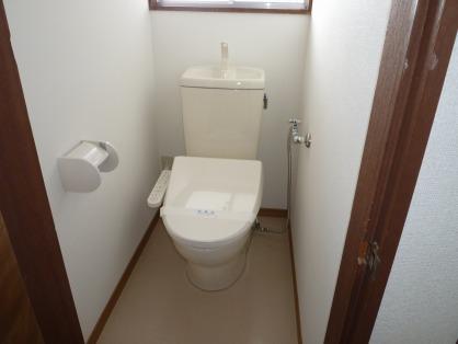リフォーム後 洋式トイレ