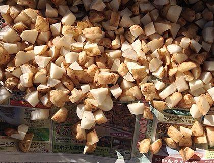 2013キクイモ乾燥4