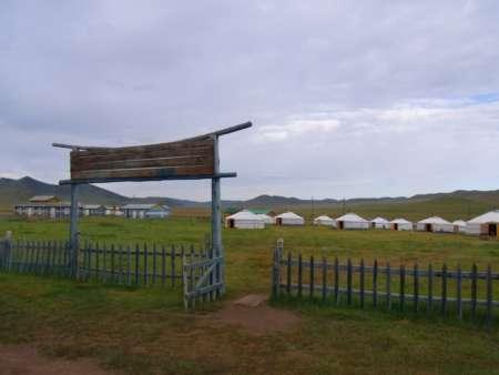 ツァガンスムのツーリストキャンプ