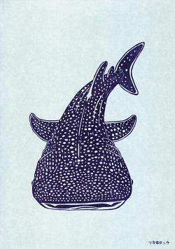 ジンベイザメはんこ