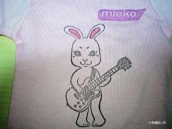 ミーコ・ミニTシャツ キャロット・ジャンプ・ショウ!!
