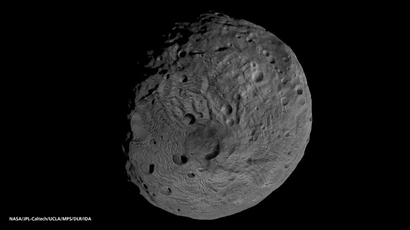 宇宙への旅人 小惑星ベスタに水...