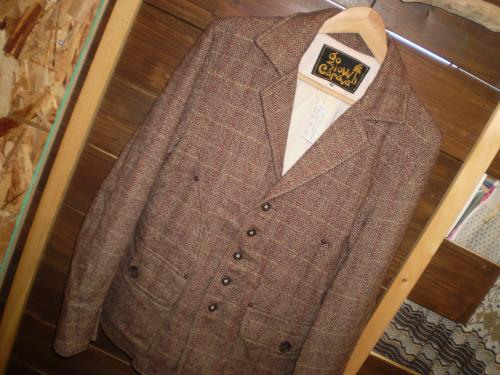 go slow caravan tweed jkt