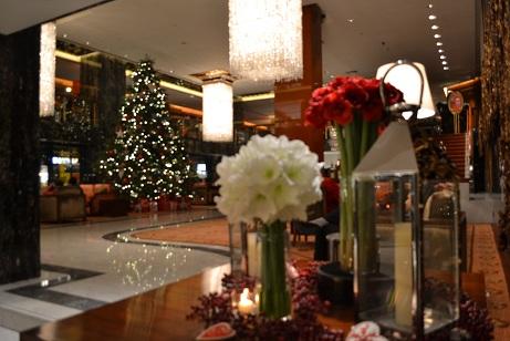 マンダリンホテルのXmas tree