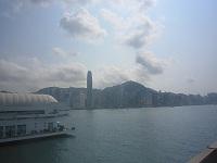 香港島を眺める