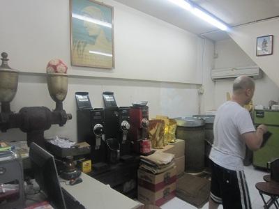 グラエコ・エジプシャン・コーヒー店内4