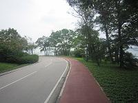 空港までの道