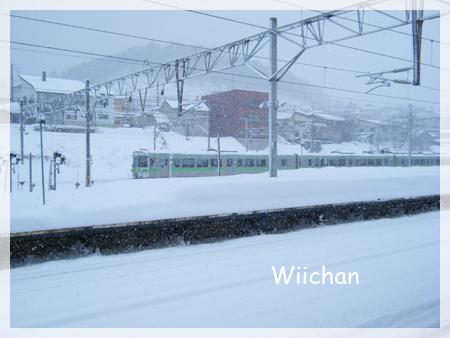 JR小樽月台雪#35265;