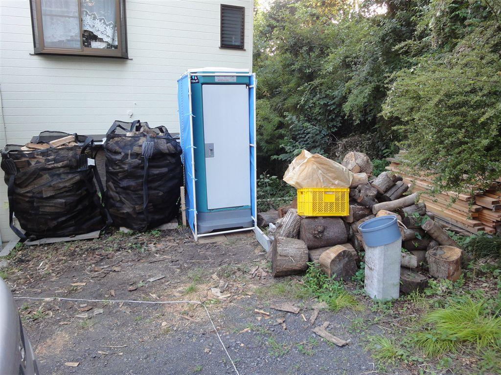 2013-07-09 仮設トイレ設置