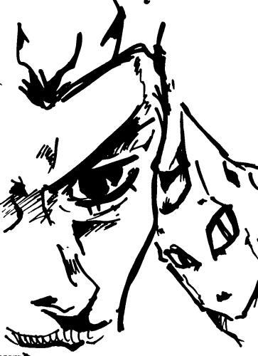 吉良吉影のラクガキ