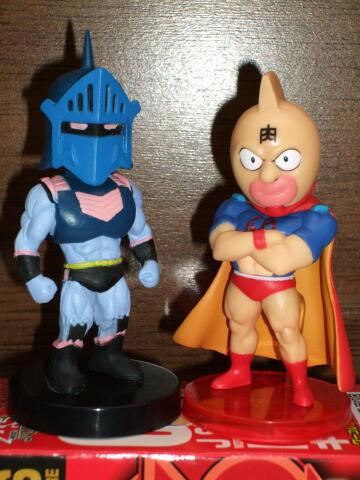 ワ―コレ・キン肉マン、その他食玩のロビンマスク