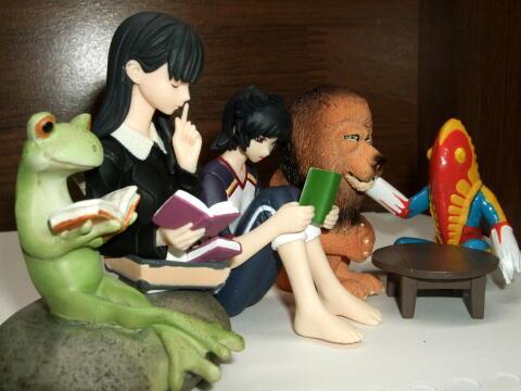栞子さんと愉快な仲間達