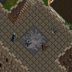砦の屋上に似合い過ぎ