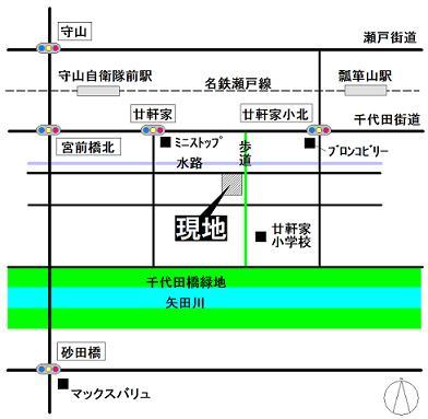 更屋敷 地図 S