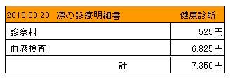 2013.03.23診療明細書【凛】
