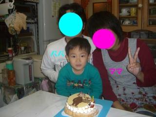 誕生日ケーキ7