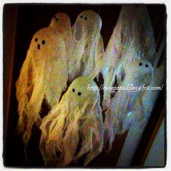 gauzy ghost