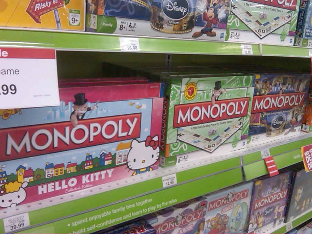 Kitty monopoly