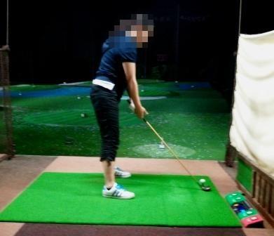 ゴルフ練習②