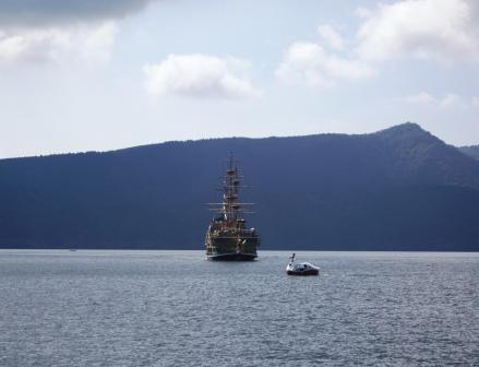海賊船がやってきた!