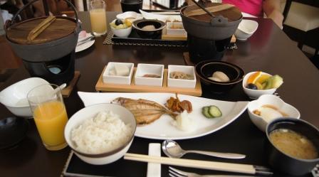 ホテル凛香朝食