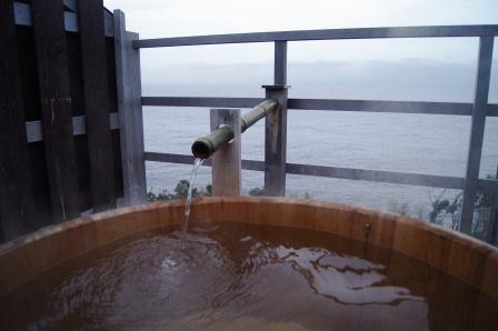 福の湯露天風呂