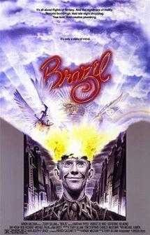 未来世紀ブラジル、ポスター、1