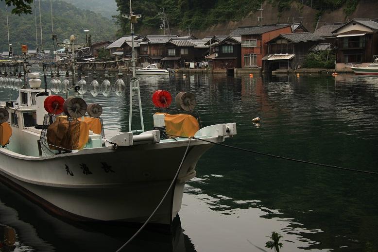 伊根漁港、1