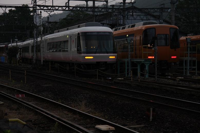 近鉄吉野線、六田車庫、2