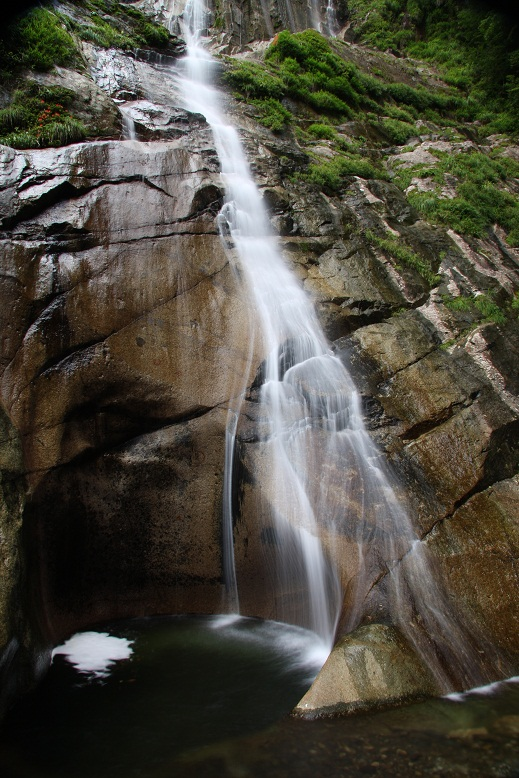 隠れ滝、5