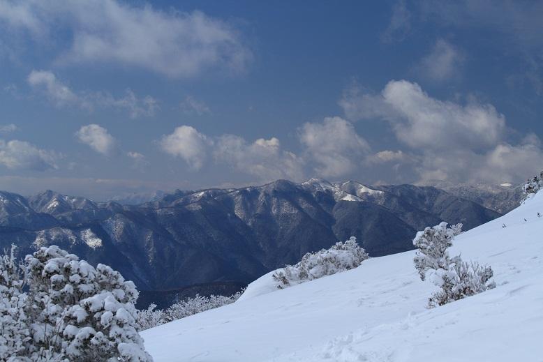 三峰山、1
