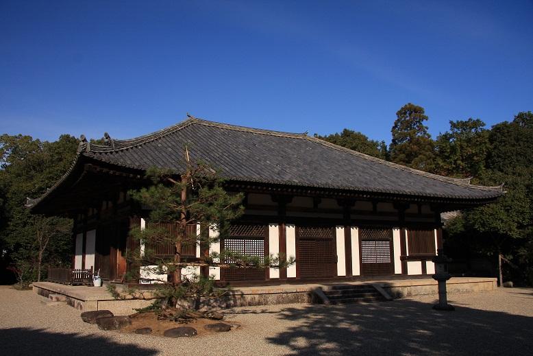 秋篠寺、4