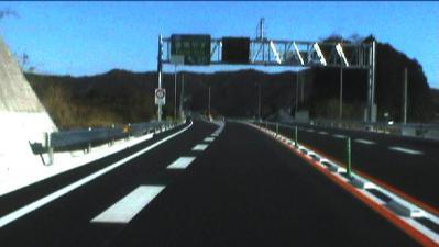 香南やすインターチェンジ高知側出口
