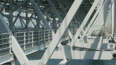 幻の四国新幹線計画(大鳴門橋下部)