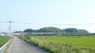 香宗川の高架橋