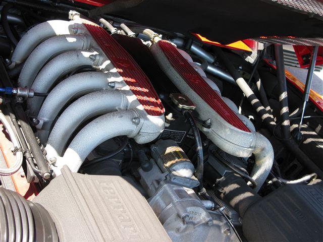 Ferrari512Mのエンジン