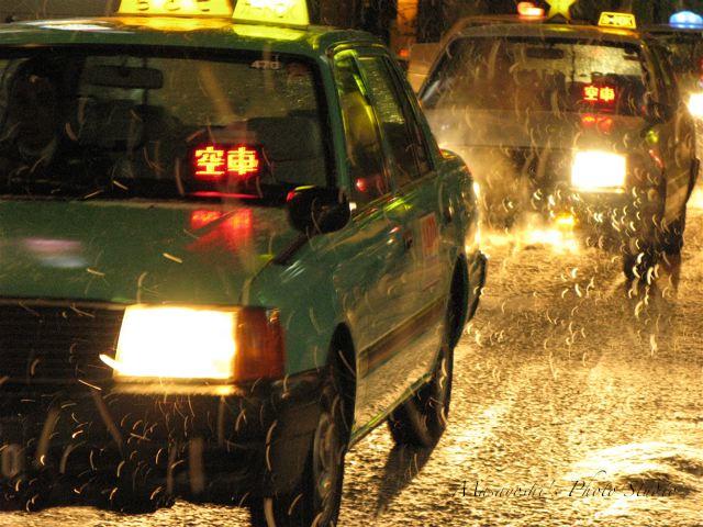 千歳のタクシー