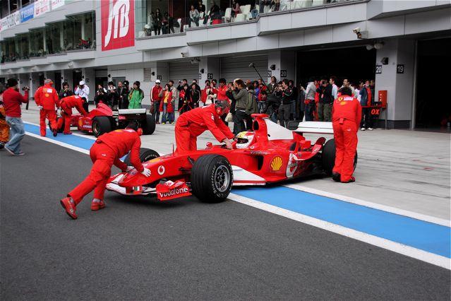 Ferrari Festival F1 Pit In