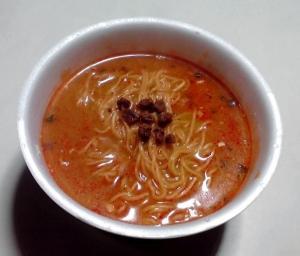 日清麺職人 担々麺(できあがり)