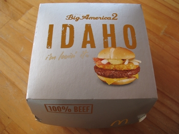 IDAHO Burger